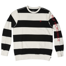 View the Huf Catalina Crew - Black/White from the Hoods and Crews clothing range online today from Boarderline