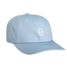 View the Huf Circle H Curve Visor 6 Panel Cap - Light Blue from the Snapbacks, 6 Panel Caps clothing range online today from Boarderline