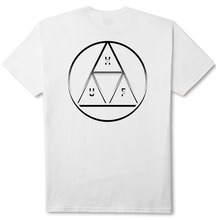 View the Huf Circle Triple Triangle T-Shirt - White from the T-Shirts clothing range online today from Boarderline