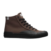 View the Huf Classic Hi Ess TX - Brown/Black from the Mens clothing range online today from Boarderline