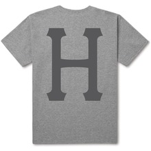 View the Huf Classic H T-Shirt - Heather Grey from the T-Shirts clothing range online today from Boarderline