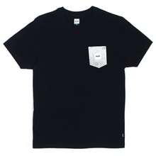 View the Huf Concrete Box Logo Pocket T-Shirt - Black from the T-Shirts clothing range online today from Boarderline