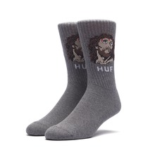 View the Huf December Dudes Sock - Charcoal from the Socks clothing range online today from Boarderline