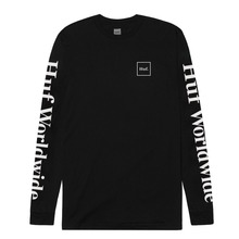 View the Huf Domestic Long Sleeve - Black from the T-Shirts clothing range online today from Boarderline