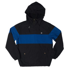 View the Huf Explorer-1 Jacket - Black/Blue from the Jackets clothing range online today from Boarderline