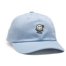 View the Huf Feelin It Curved Visor 6 Panel Cap - Sky from the Snapbacks, 6 Panel Caps clothing range online today from Boarderline