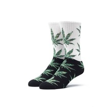 View the Huf Plantlife Socks - Black/Green from the Socks clothing range online today from Boarderline