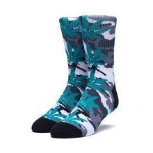 View the HUF PLANTLIFE CAMO SOCKS - WHITE from the Socks clothing range online today from Boarderline