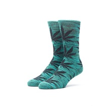 View the Huf Plantlife Socks - Green/Black from the Socks clothing range online today from Boarderline