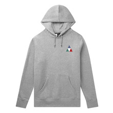 View the HUF PRISM TRIPLE TRIANGLE PULLOVER HOOD - GREY from the Hoods and Crews clothing range online today from Boarderline