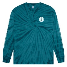 View the HUF REGIONAL TIE-DYE LONG SLEEVE - DEEP JUNGLE from the T-Shirts clothing range online today from Boarderline