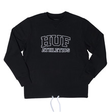 View the HUF Romes Crew - Black from the Hoods and Crews clothing range online today from Boarderline