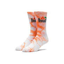 View the Huf Soda Crew Sock - Orange from the Socks clothing range online today from Boarderline