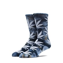 View the Huf Tie Dye Plantlife Socks - Navy from the Socks clothing range online today from Boarderline