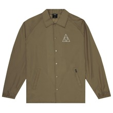 View the HUF TRIPLE TRIANGLE COACHES JACKET - ELMWOOD from the Jackets clothing range online today from Boarderline