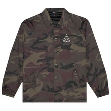 View the HUF TRIPLE TRIANGLE COACHES JACKET - WOODLAND from the Jackets clothing range online today from Boarderline