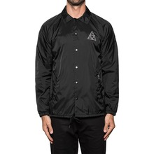 View the Huf Triple Triangle Coach Jacket - Black from the Jackets clothing range online today from Boarderline