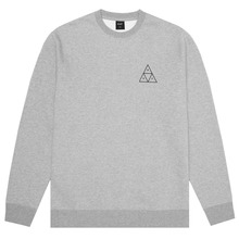 View the HUF TRIPLE TRIANGLE CREW SWEATSHIRT - GRAY HEATHER from the Hoods and Crews clothing range online today from Boarderline