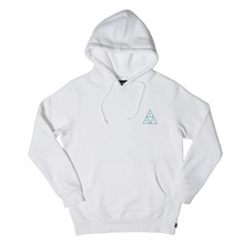 View the Huf Triple Triangle Hooded Sweat - White from the Hoods and Crews clothing range online today from Boarderline