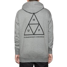 View the Huf Triple Triangle Hood - Heather Grey from the Hoods and Crews clothing range online today from Boarderline