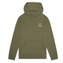 View the HUF TRIPLE TRIANGLE PULLOVER HOOD - LODEN from the Hoods and Crews clothing range online today from Boarderline