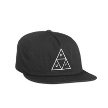 View the Huf Triple Triangle Snapback Cap - Black from the Snapbacks, 6 Panel Caps clothing range online today from Boarderline