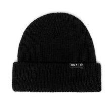 View the HUF USUAL BEANIE - BLACK from the Beanies clothing range online today from Boarderline