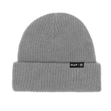 View the HUF USUAL BEANIE - GREY HEATHER from the Beanies clothing range online today from Boarderline