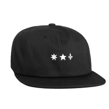 View the HUF X Sammy 6 Panel Cap - Black from the Snapbacks, 6 Panel Caps clothing range online today from Boarderline