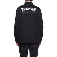 View the Huf X Thrasher Chore Jacket/Shirt - Blacket from the Shirts clothing range online today from Boarderline