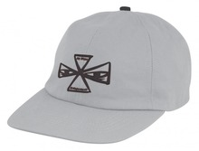 View the Independent x Ray Barbee Cross Cap - Grey from the Snapbacks, 6 Panel Caps clothing range online today from Boarderline