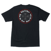 View the Independent X Thrasher Oath T-Shirt - Black from the T-Shirts clothing range online today from Boarderline