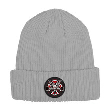 View the Independent X Thrasher Pentagram Beanie - Grey from the Beanies clothing range online today from Boarderline