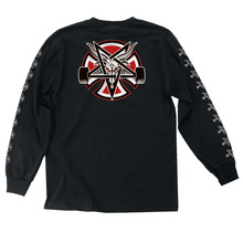 View the Independent X Thrasher Pentagram Long Sleeve - Black from the T-Shirts clothing range online today from Boarderline