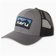 View the KAVU Above Standard Cap - Charcoal from the Snapbacks, 6 Panel Caps clothing range online today from Boarderline