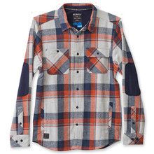 View the Kavu Baxter Shirt - Overcast from the Shirts clothing range online today from Boarderline