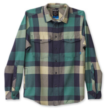 View the Kavu Carrick Bend Shirt - Arctic from the Shirts clothing range online today from Boarderline