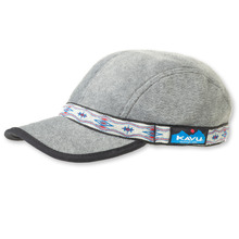 View the KAVU Fleece Stap Cap - Charcoal Heather from the Snapbacks, 6 Panel Caps clothing range online today from Boarderline