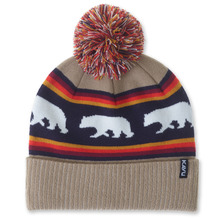 View the KAVU Herschel Beanie - Snow Bear from the Beanies clothing range online today from Boarderline