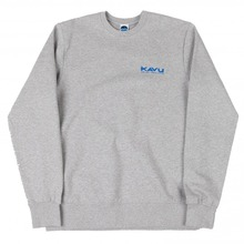 View the Kavu Klear Crew - Heather Grey from the Hoods and Crews clothing range online today from Boarderline