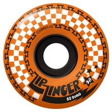 View the KROOKED ZIP ZINGER WHEELS - 80D ORANGE - 58MM from the Wheels clothing range online today from Boarderline