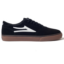View the Lakai Manchester - Black/Gum from the Footwear clothing range online today from Boarderline