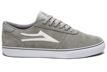View the Lakai Manchester - Grey Suede from the Mens clothing range online today from Boarderline