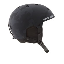 View the Sandbox Legend Snow Helmet - Black Camo from the Men clothing range online today from Boarderline