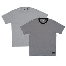 View the Levis Skateboarding 2 Pack T-Shirts - Black Stripe/Heather Grey from the T-Shirts clothing range online today from Boarderline