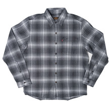 View the Levis Skateboarding Riveter Shirt - Black/White Plaid from the Shirts clothing range online today from Boarderline