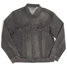 View the Levis Skateboarding Trucker Jacket - Black Battery from the Jackets clothing range online today from Boarderline