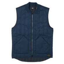 View the Levis Skateboarding Vest - Dress Blues from the Jackets clothing range online today from Boarderline