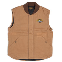 View the Loser Machine Condor Vest - Caramel from the Jackets clothing range online today from Boarderline
