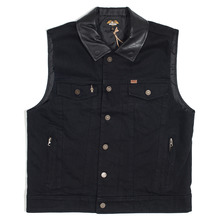 View the Loser Machine Kingsway Vest - Black from the Jackets clothing range online today from Boarderline